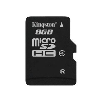 Kingston Digital SDC4/8GBSP 8GB microSDHC Flash Memory Card