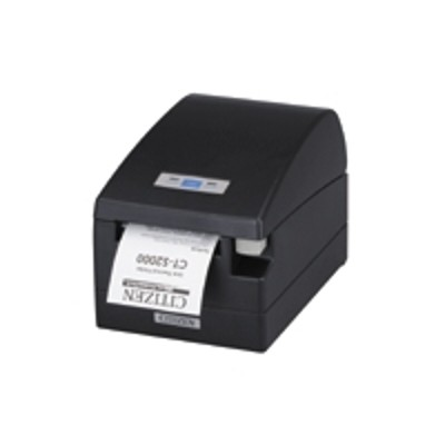 Citizen CT-S2000UBU-BK CT-S2000 - Receipt printer - two-color (monochrome) - thermal line - Roll (3.25 in) - 203 dpi - up to 519.7 inch/min - USB