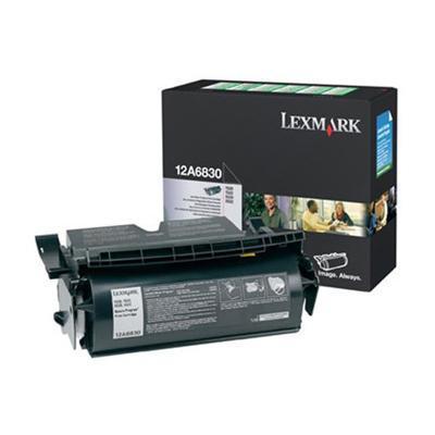 Lexmark 12A6830 Black Return Program Print Cartridge for T520/T522