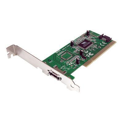 Click here for Startech.com 1 Port eSATA + 1 Port SATA PCI SATA C... prices
