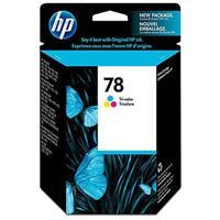 HP 78 Tri-color Inkjet Print Cartridge