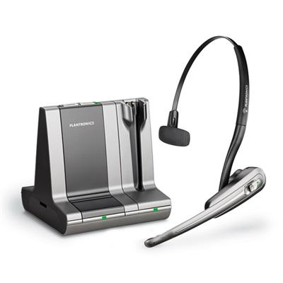 Savi Office WO100 - Headset ( convertible ) - wireless - DECT 6.0