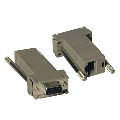 TrippLite P450-000 2PC DB9 Female to RJ45 Null Modem Adapter Cable Kit