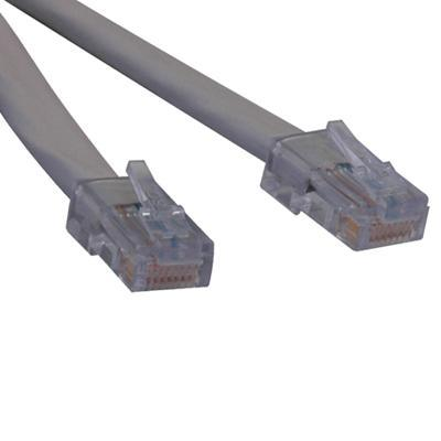 TrippLite N266-007 7ft T1 RJ48C ( RJ45-RJ45 ) Cross-Over Patch Cable