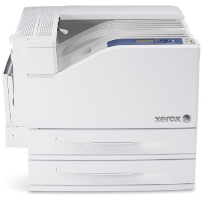 Xerox 7500/DT Phaser 7500DT - Printer - color - Duplex - LED - 12.6 in x 47.2 in - 1200 dpi - up to 35 ppm (mono) / up to 35 ppm (color) - capacity: 1100 sheets