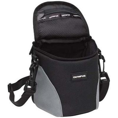 Olympus 202309 Ultra Zoom - Case for camera - nylon - gray - for  SH-50  SP-720  820  SZ-15  16  31  Stylus 1s  Stylus Traveller SH-50  SZ-31