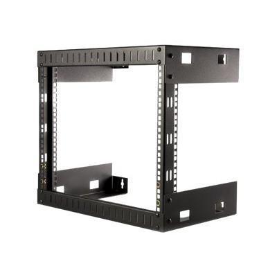 StarTech.com RK812WALLO 8HE 19 Open Frame Geräte Rack Wandmontagefähig - 30cm Tief - Wall Mount Rack aus Stahl