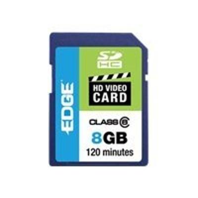 Edge Memory PE222598 8GB Edge Sdhc Hd Video Card Class 6