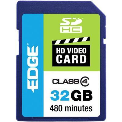 Edge Memory PE222611 32GB Edge Sdhc Hd Video Card Class 4