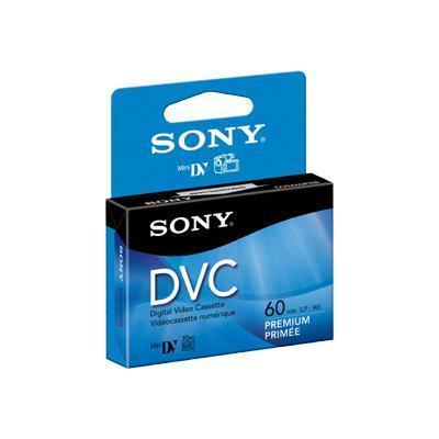 DVM 60PRRH - Premium - Mini DV tape - 1 x 60min