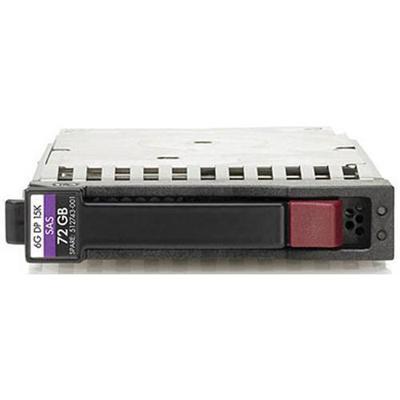 Hewlett Packard Enterprise 512545-B21 72GB 6G SAS 15000rpm SFF 2.5 Dual Port Enterprise Hard Drive
