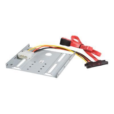 StarTech.com BRACKET25SAT 2.5in SATA Hard Drive to 3.5in Drive Bay Mounting Kit