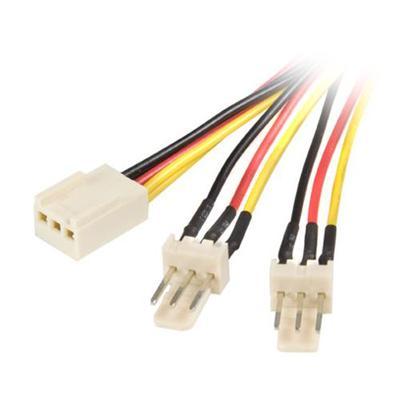StarTech.com TX3SPLIT12 12in TX3 Fan Power Splitter Cable