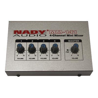 Nady MM-141 MM-141 - Analog mixer - 4-channel