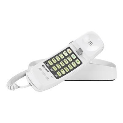 AT&T TL-210 WH 210M Trimline Corded Telephone - White