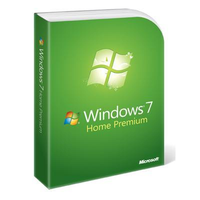 Windows 7 Home Premium - Complete package - 1 PC - DVD - English - North America