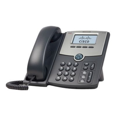 Cisco SPA502G Small Business SPA 502G - VoIP phone - SIP  SIP v2  SPCP - single-line - silver  dark gray - for Small Business Pro Unified Communications 320 wit