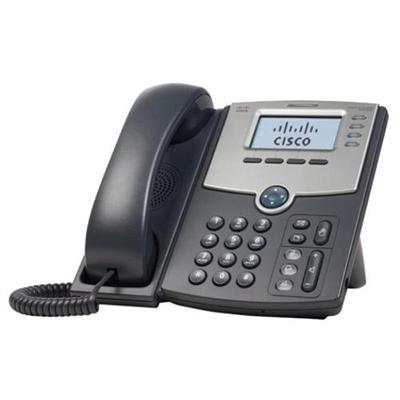 Cisco SPA504G Small Business SPA 504G - VoIP phone - SIP SIP v2 SPCP - multiline - silver dark gray - for Small Business Pro Unified Communications 320 with