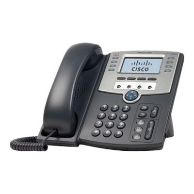 Cisco SPA509G Small Business SPA 509G - VoIP phone - SIP  SIP v2  SPCP - multiline - silver  dark gray - for Small Business Pro Unified Communications 320 with