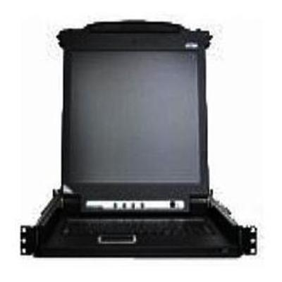 Aten Technology CL1008MUKIT KVM Console with KVM Switch - 8-Ports - Rack-mountable - TFT - 17 - 1280 x 1024 / 75 Hz - 250 cd/m2 VGA