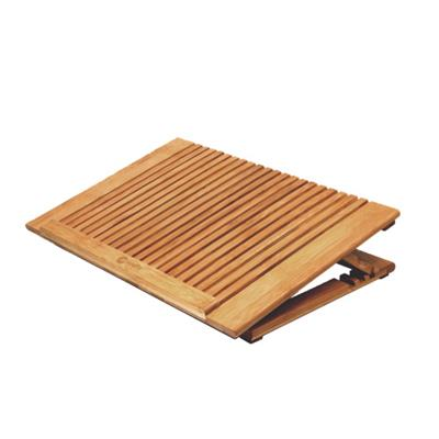 Discount Electronics On Sale Bamboo Cooling Stand for Laptop Computer with Adjustable Height
