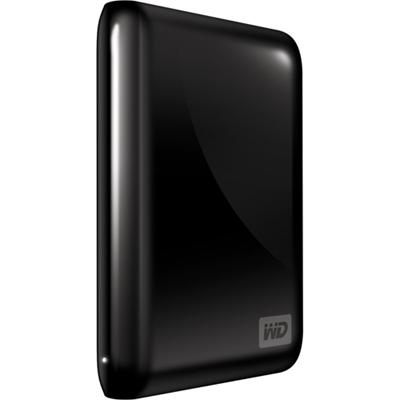 Western Digital My Passport Essential 500GB External USB 2.0 SmartWare Portable Hard Drive, Black