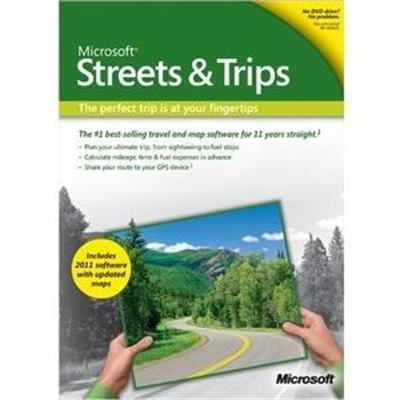 Microsoft Streets and Trips 2010 - Маленькое изображение товара.