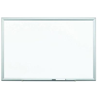 3M DEP4836A Porcelain Dry Erase Board  Magnetic 48 in x 36 in with 4 dry erase markers