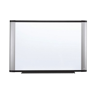 3M M4836A Melamine Dry Erase Board  Aluminum Frame  48 in x 36 in