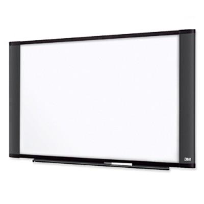 3M M4836G Melamine Dry Erase Board  Graphite Finish Frame  48 in x 36 in