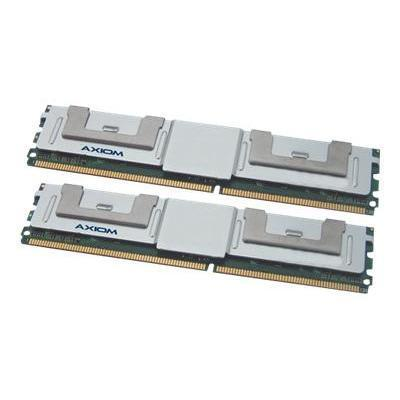 Axiom Memory A2257247-AX AX - DDR2 - 16 GB : 2 x 8 GB - FB-DIMM 240-pin - 667 MHz / PC2-5300 - fully buffered - ECC - for Dell PowerEdge M600