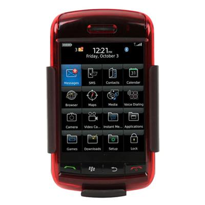 SeeThru Hard Shell Case for BlackBerry Storm - Red