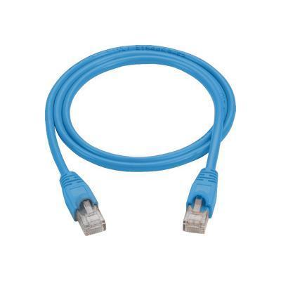 Black Box CAT5EPC-006-BL-10PAK Patch cable - RJ-45 (M) to RJ-45 (M) - 6 ft - UTP - CAT 5e - molded  snagless  stranded - blue (pack of 10)