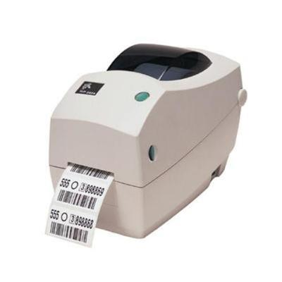 Zebra Tech 282P-101110-000 TLP 2824 Plus Monochrome Direct thermal Thermal transfer Label printer - Parallel  Serial  USB
