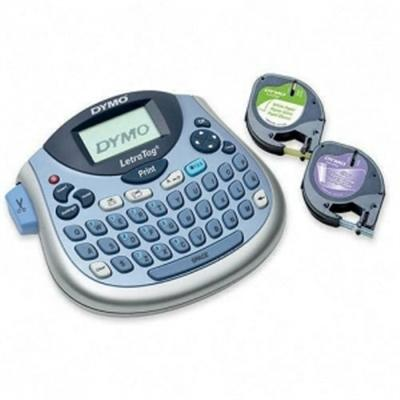 Sanford 1733013 DYMO LetraTag Plus LT-100T - Labelmaker - B/W - Direct thermal - Roll (0.47 in)