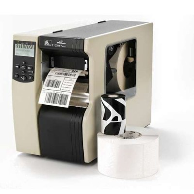 Zebra Tech 113-801-00000 110XI4 Monochrome Direct Thermal/Thermal Transfer Printer Label Printer