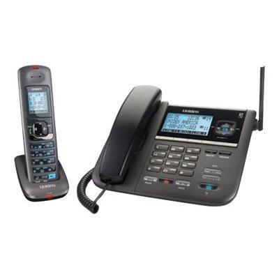 DECT 4096 - cordless phone w/ corded handset answering system & call waiting caller ID
