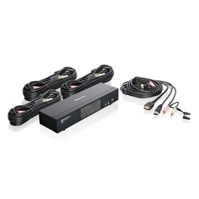 Iogear GCS1794 4-Port HD Multimedia KVMP Switch with Audio