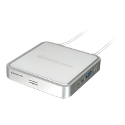 Iogear GCS634UW6 MiniView USB KVM Switch with Cables and Audio