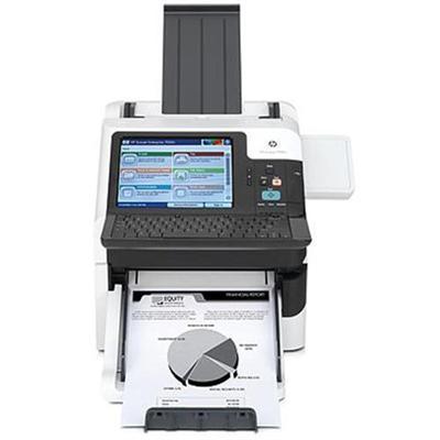 ScanJet Enterprise 7000nx Document Capture Workstation   document scanner