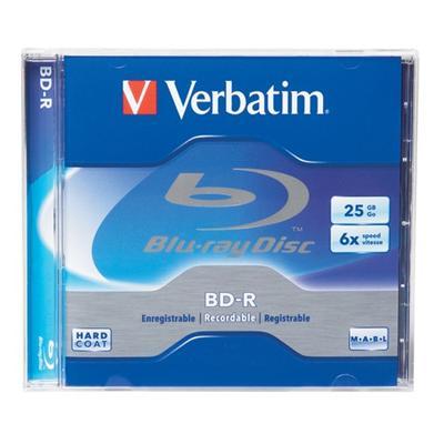 Verbatim 96910 BD-R - 25 GB 6x - jewel case