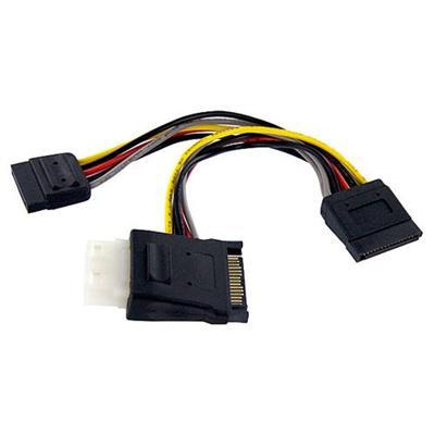 StarTech.com PYOLP42SATA SATA to LP4 with 2x SATA Power Splitter Cable