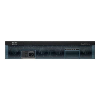 Cisco CISCO2921/K9 2921 - Router - GigE - WAN ports: 3 - rack-mountable