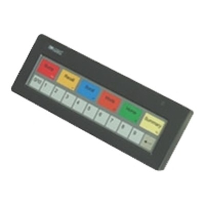 Logic Controls KB1700U-B-BK Controls KB 1700 Option B - Keypad - USB - black