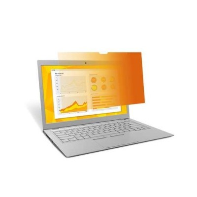 Image of 3M Corp GF141W1B Gold Privacy Filter for 14.1 Widescreen Laptop - 16:10