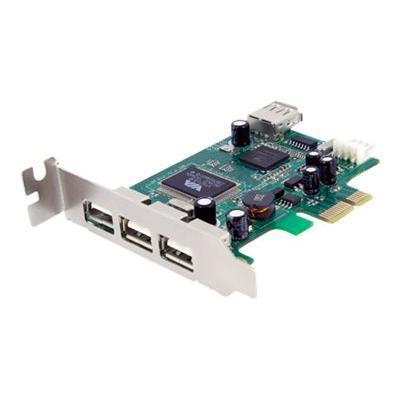Click here for StarTech.com PEXUSB4DP 4-Port PCI Express Low Prof... prices