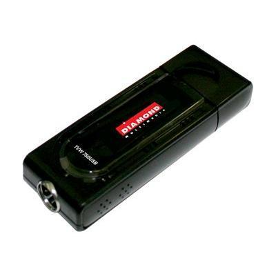 Diamond ATI TV Wonder HD 750 USB - DVB-T HDTV receiver / analog TV / video input adapter - Hi-Speed USB - NTSC  SECAM  PAL