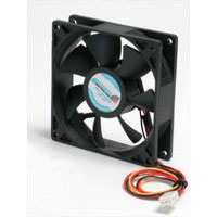 StarTech.com FAN9X25TX3L Quiet 9.25cm Dual Ball Bearing Case Fan with TX3 Connector