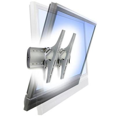 """Ergotron TM Tilting Wall Mount - Mounting kit ( wall plate  fasteners  2 brackets ) for LCD / plasma panel - aluminum  steel - silver - screen size: from 32"""" - wall-mountable"""