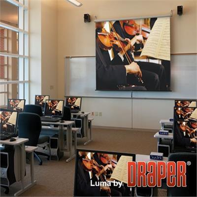 Draper  INC. 207003 99 Luma Manual Projection Screen